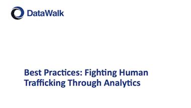 DataWalk Human Trafficking