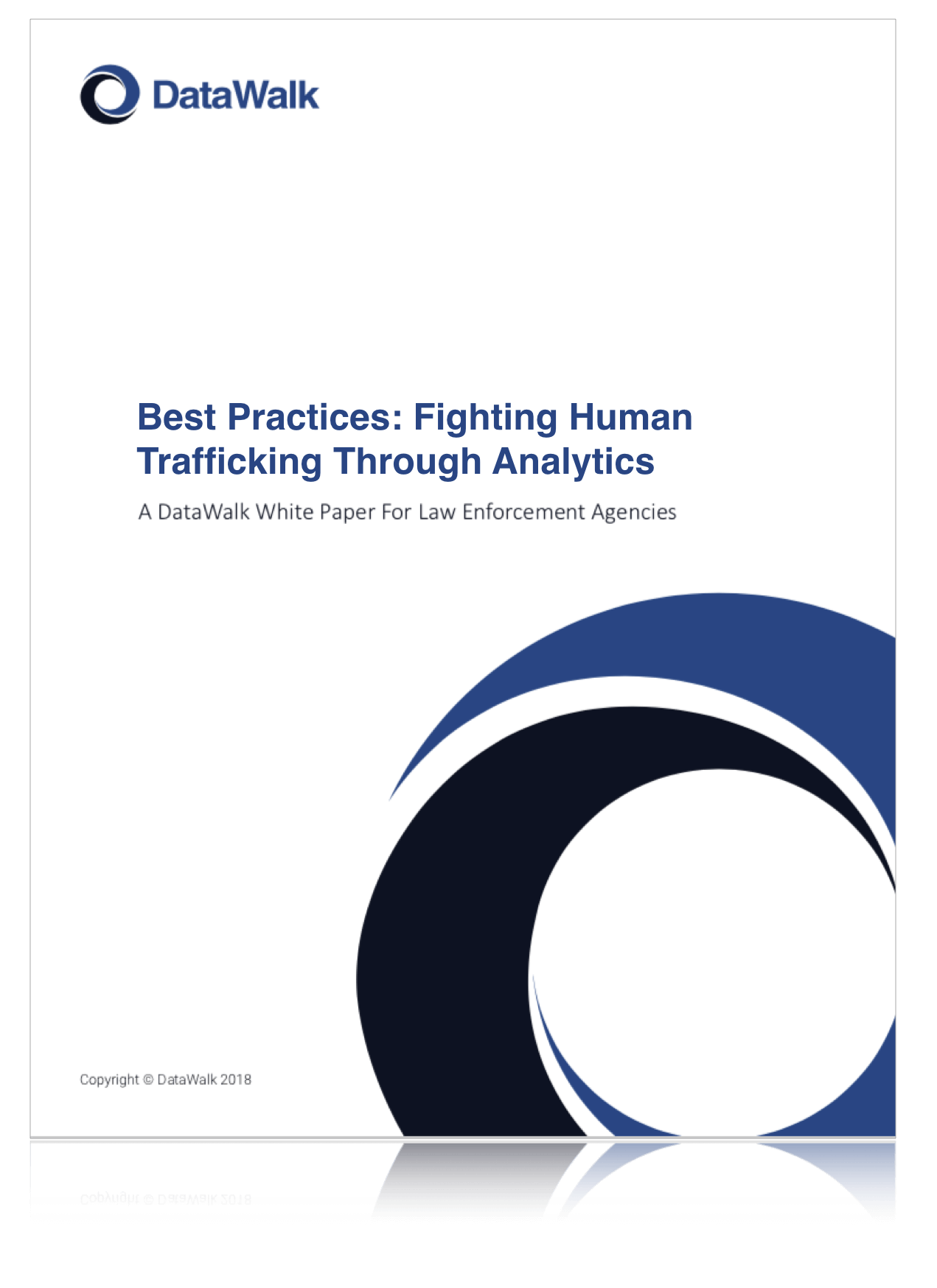 Best Practices: Fighting Human Trafficking Through Analytics