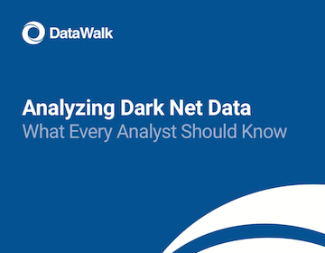 DataWalk Analyzing Dark Net Data 1