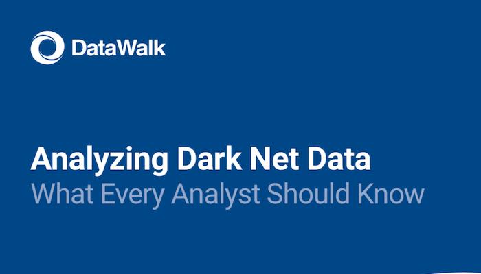 DataWalk Analyzing Dark Net Data