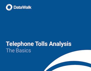 DataWalk Telephone Toll Analysis