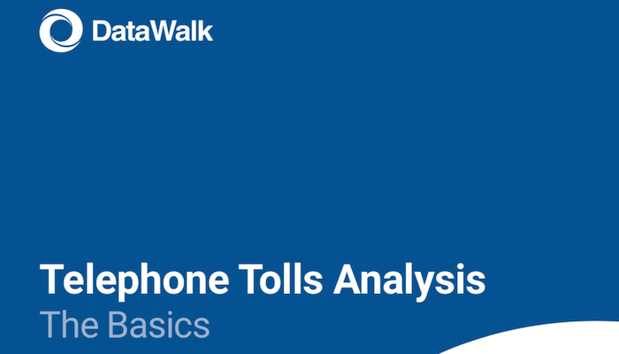 DataWalk Telephone Tolls Analysis