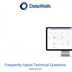 DataWalk Technical FAQ