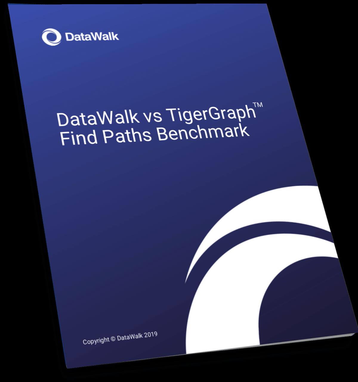 DataWalk vs TigerGraph Find Paths Benchmark