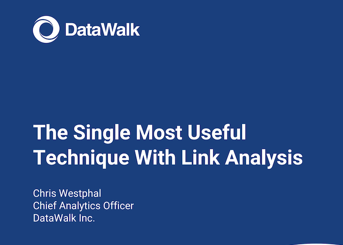 DataWak The Single Most Useful Link Analysis Technique