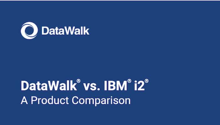 DataWalk vs. IBM i2