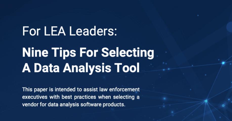 Nine Tips For Selecting A Data Analysis Tool